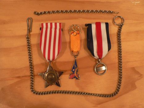Medals of Honour by GeorgieChaos