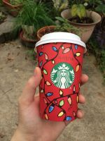 Starbucks cup  by LovelyBunny-17