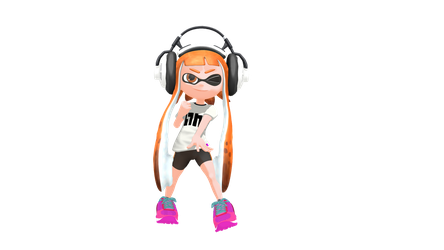 Inkling Girl (MMD) by Ratchet55