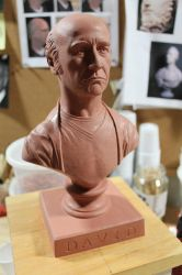 Larry David Bust by CG-imagery