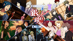 Gintama Fanmade Ending with OCs - VIDEO LINK! by Yuminari