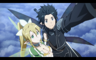 Kirito and Leafa 2 by jumarco11