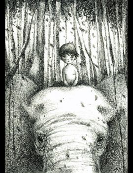 Prince of Elephants by frecklefaced29