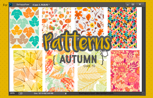 Patterns Autumn BHR by iBeHappyRawr