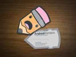 My Business Card by blo0p