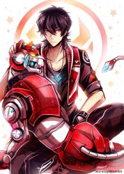 Voltron Postcard - Keith by Evil-usagi