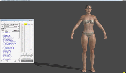 [ARK:SE] Human Female With Optional Outfits (wip) by Phelcer