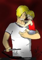 Baby Daddy: Sanji by SwordFire19