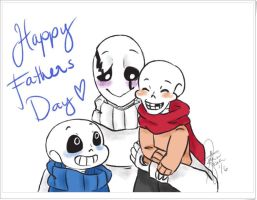 Happy fathers day by booplebuns
