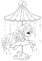 Celestial Carousel - Cloud Pegasus by YamPuff