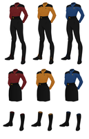 Concept Uniform, Female Officer's Wraparound by JJohnson1701
