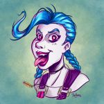 Jinx - League of Legends by SuperEdco