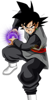 Goku Black Kame Hame Ah Power v1 by jaredsongohan