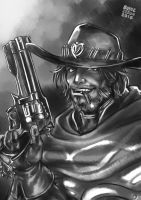 Overwatch: Mccree by Blade-Fury