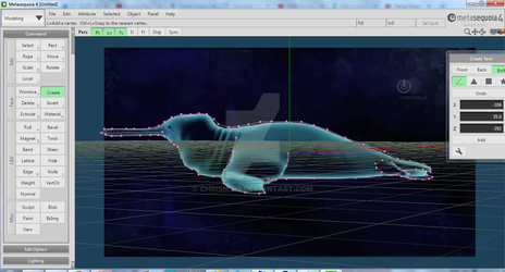 Gannetwhale MMD Project WIP by ChrisM199