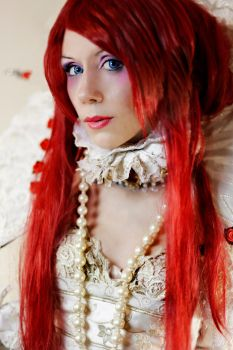 Queen Esther Blanchett (Trinity blood) by Wiccana69