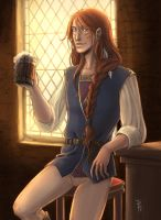 Art Trade: Yaroslav by SicilianValkyrie