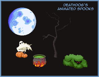 Animated Spooks - Furcadia Patch by Deathdog3000