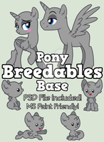 :P2U: Pony Breedables Base :P2U: by equinepalette