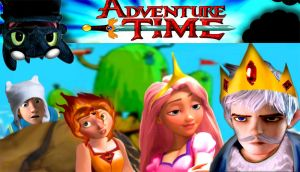Adventure Time with the Big Four by mirandaareli