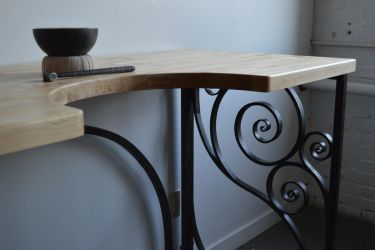 Studio Workbench and Pitch Bowl by CuSmith
