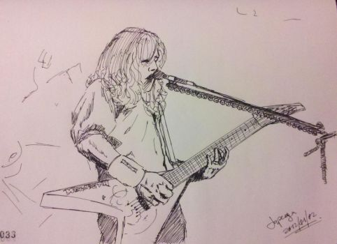 Dave Mustaine by japega