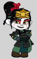Kyoshi Vanellope by Death-Driver-5000