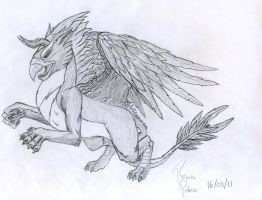 Uncommon Griffin by Lyanias