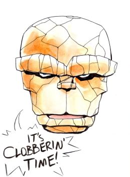 Ben Grimm birthday by thenumber42
