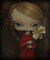 The Girl with a Yellow Iris by paulee1