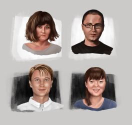 Portraits by amircea