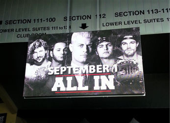ALL IN Electronic Sign by R-Legend