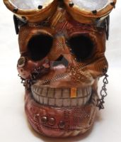 Punk Skull by MarilynMorrison