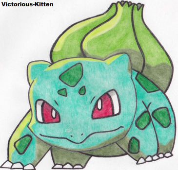 Bulbasaur 001# by Victorious-Kitten