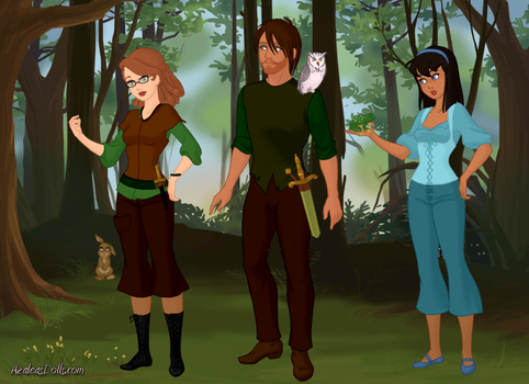 Hunger Games-Fairytale style by wolfdemongirl13