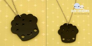 Muffin Acrylic Necklace by XintuStore