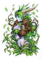 Ysera the Dreamer by Candra