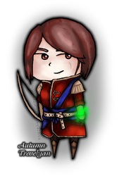 Autumn Trevelyan by ksiazeAikka