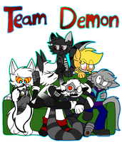Team Demon by SpaazleDazzle
