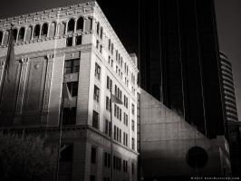 Amway Grand at Sunset (930nm IR) by KBeezie