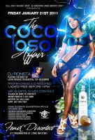 the cocoloso affair flyer by DeityDesignz
