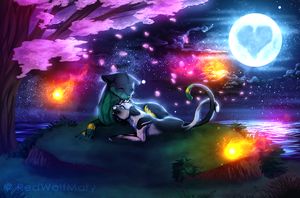 [CE] Night Of Colors by RedWolfMary