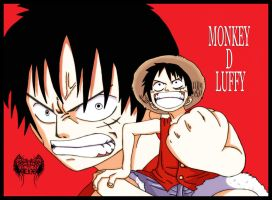 Monkey D Luffy by l3xxybaby