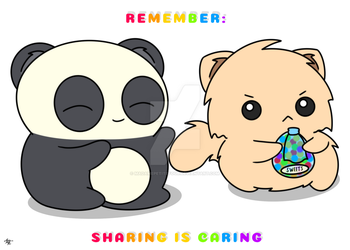 Sharing is Caring by MadamePetiteFour