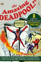Deadpool Meets the Fantastic Four! by ProjectCornDog