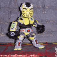 Cyrax Figure by the-gil-monster
