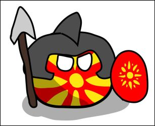 Macedoniaball by dykroon-chan