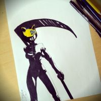 Celty Sturluson by SnitchWing