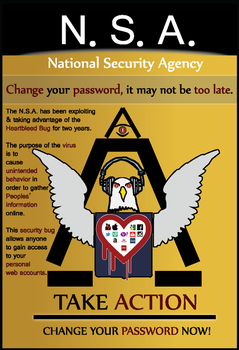 NSA POSTER Design by D3sKevin