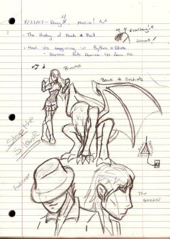 My Note Doodles by Night-Shadow405